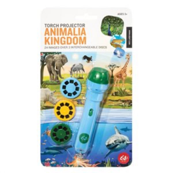 IS GIFT Torch Projector - Animalia Kingdom