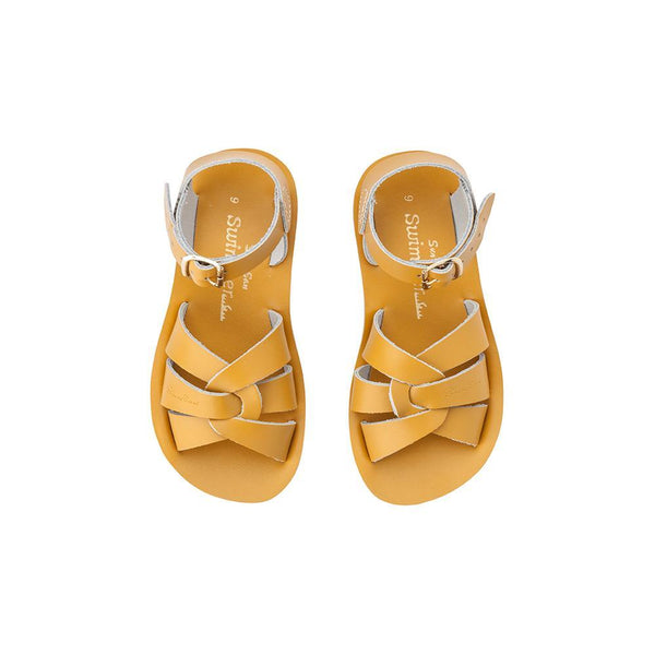 Salt Water Sandals for Kids | Sun San Surfer - Mustard