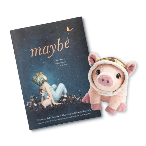 COMPENDIUM | Maybe - Flying Pig Plush
