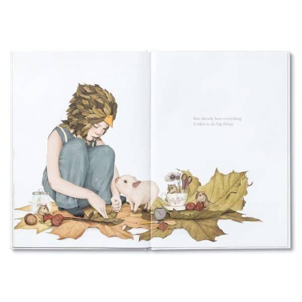 COMPENDIUM Books | Maybe - a hardcover children's book about the potential you hold inside | Kobi Yamada