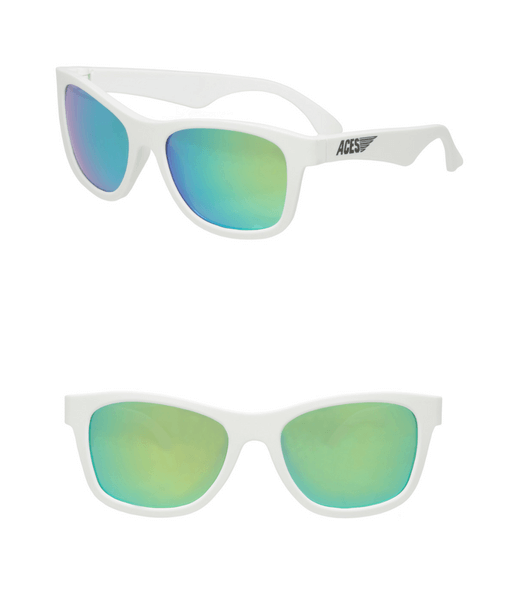 aces-navigator-white-frames-green-lenses