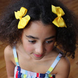 Lauren Hinkley | Small Grosgrain Yellow Bow