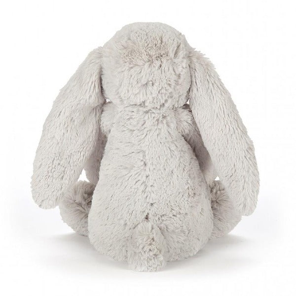 JELLYCAT Blossom Bashful Silver Bunny Small back view