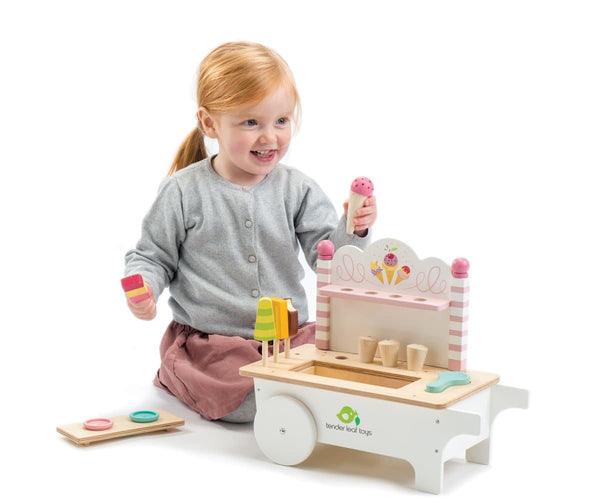 Tender Leaf Ice Cream Cart Wooden toy