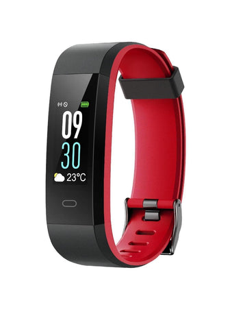 X2GO - Waterproof Smart Watch - Black/Red