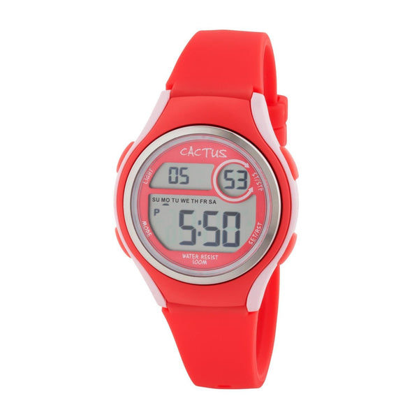 CACTUS | Coast - Slim Sports Digital Watch Kids, Girls, Tweens, Teens - Melon