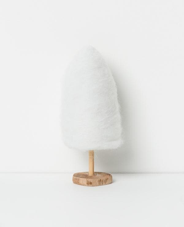 PAPAYA HOMEWARES | Christmas Decorations: North Pole Standing Floss Tree