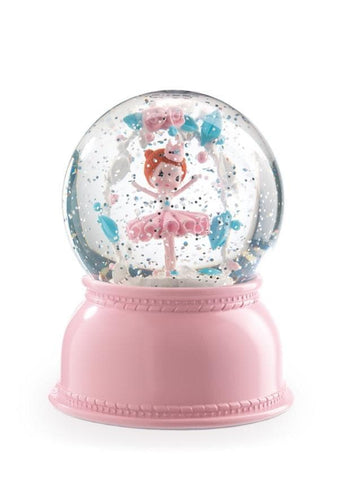 Night Light - Ballerina Snow Globe