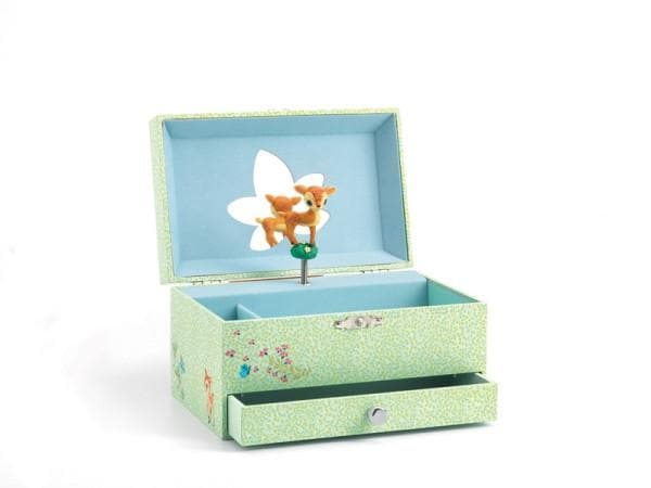 DJECO TOYS | Music Box Fawn | Jewellery box