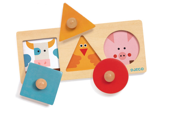 DJECO Formabasic Wooden Puzzle