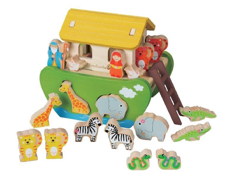 EverEarth Educational Shape Sorting Noah's Ark