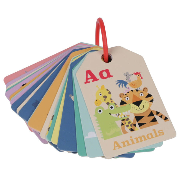 TIGER TRIBE | TIGER TRIBE | Flash cards - Animal ABC | pram toy
