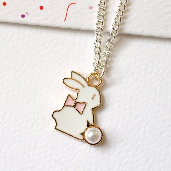 LAUREN HINKLEY Bunny Necklace