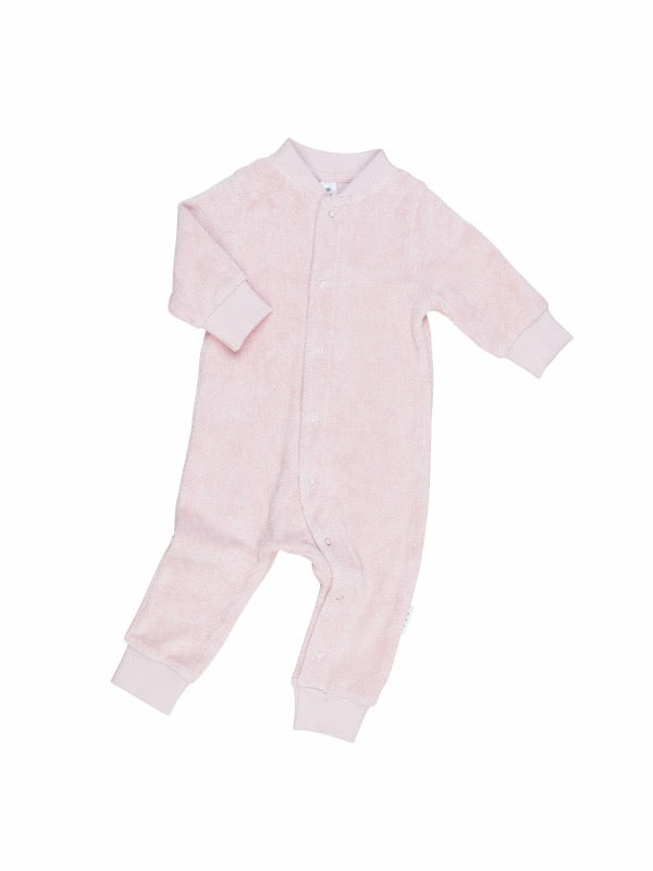 HUXBABY Rose Terry Romper