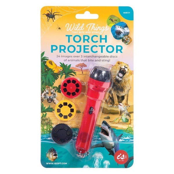 IS GIFT Torch Projector - Wild Things that Bite & Sting