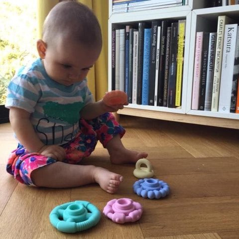 Pastel Stacker Teether & Toy
