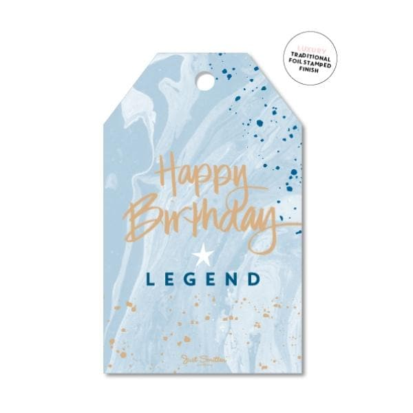 JUST SMITTEN CARDS | HB Legend Gift Tag