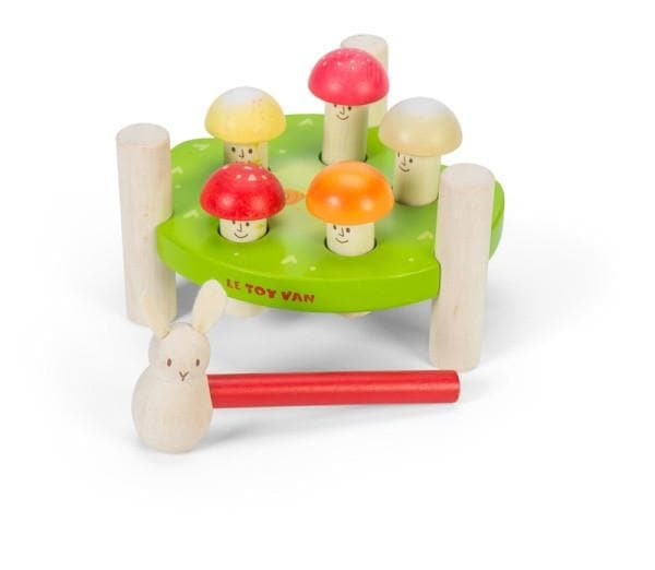Le Toy Van Petilou Hammer Game Mr Mushrooms