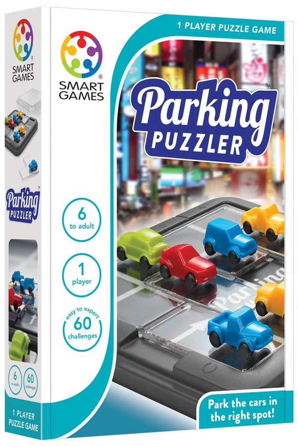 PARKING PUZZLER by Smart Games - One Player Puzzle Game