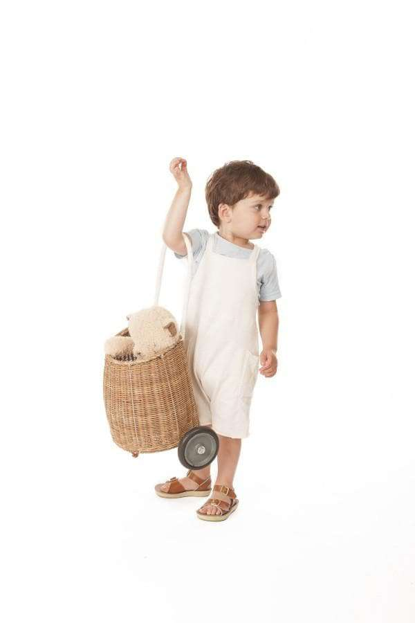 OLLI ELLA | Luggy - Natural Kids Wheelie Basket