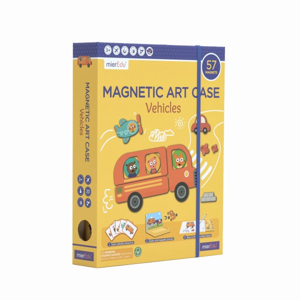 MIEREDU Magnetic Art Case - Vehicles