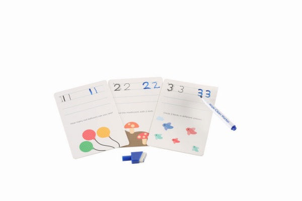 MIEREDU Wipe Clean Activity Set - Numbers