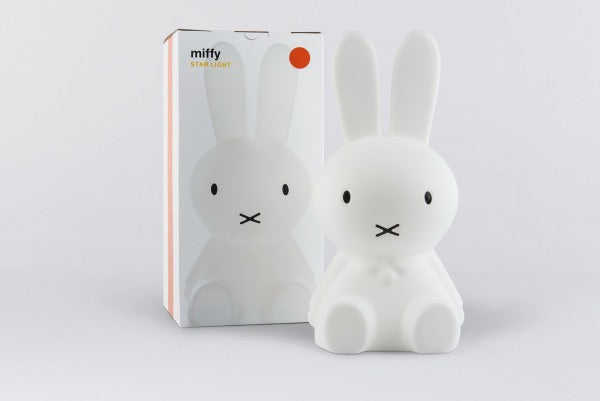 MR MARIA Miffy Star Light Lamp displayed with box