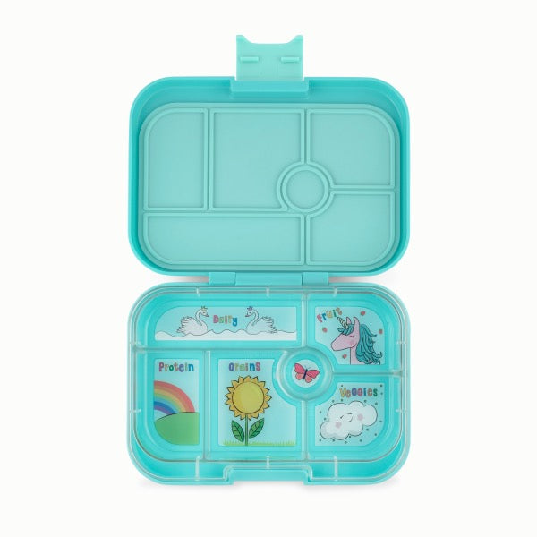 YUMBOX Original 6 compartment - Misty Aqua
