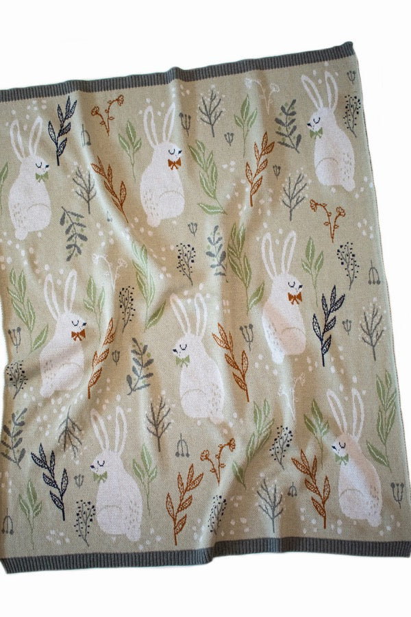 INDUS DESIGN Nature Bunny Blanket