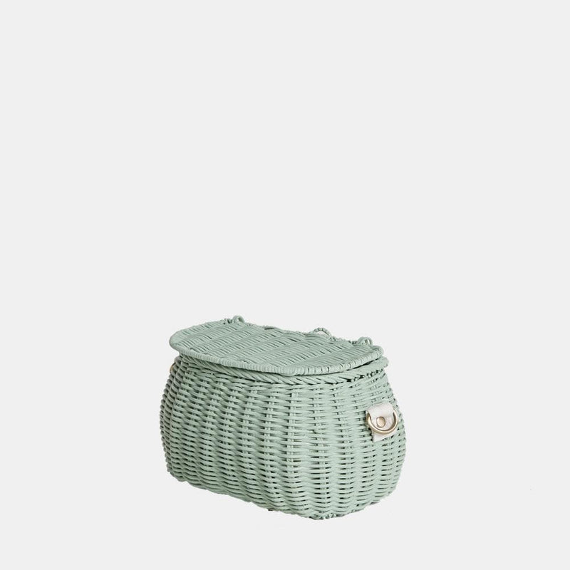 OLLI ELLA | Mini Chari - Mint - Bag/Backpack/Scooter basket/Bike Basket