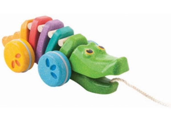 PLAN TOYS : Rainbow Alligator
