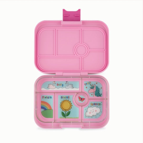 YUMBOX Original 6 compartment - Power Pink