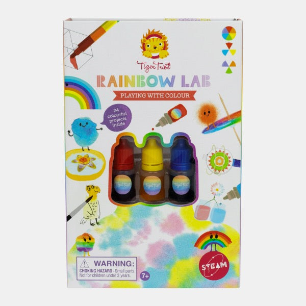 TIGER TRIBE Rainbow Lab - Playing with Colour