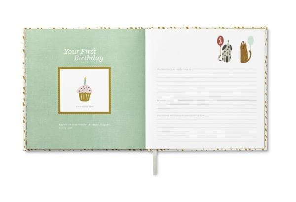 COMPENDIUM Books | You're Here - A Keepsake Baby Book