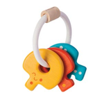 PLAN Wooden Toys - Baby Key Rattle
