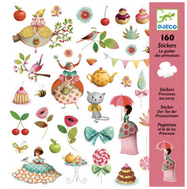 DJECO Stickers - Tea Party