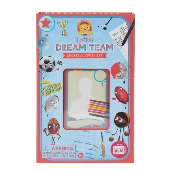 TIGER TRIBE Dream Team - Sports Activity Set