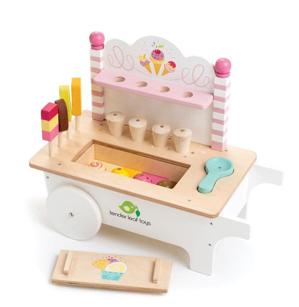 Tender Leaf Toys | Ice Cream Cart Wooden toy