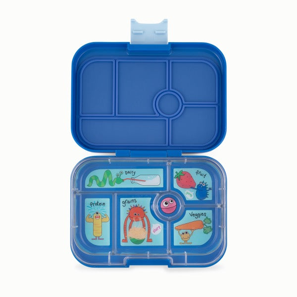 YUMBOX Original 6 compartment - True Blue