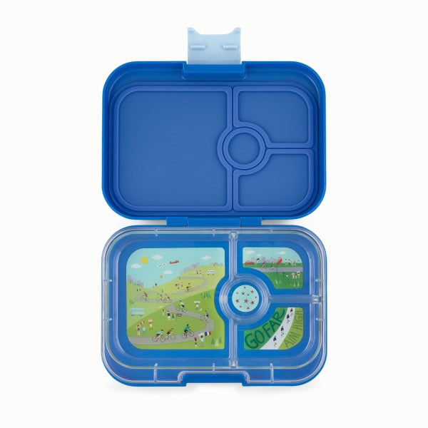 YUMBOX Panino 4 compartment - True Blue