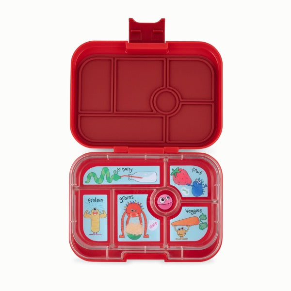 YUMBOX Original 6 compartment - Wow Red