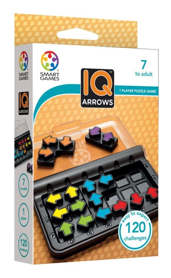 SMART GAMES IQ Arrows - One Player Puzzle Game
