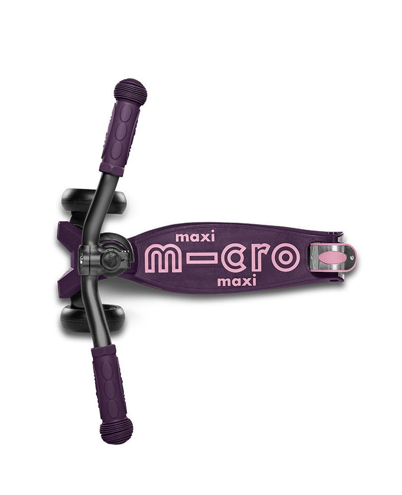 MICRO SCOOTERS Maxi Micro Deluxe Pro Scooter - Deep Purple