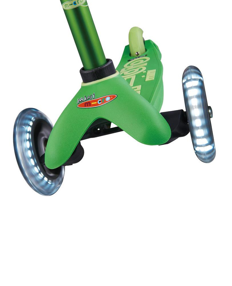 MICRO SCOOTERS Mini Micro Deluxe LED - Green