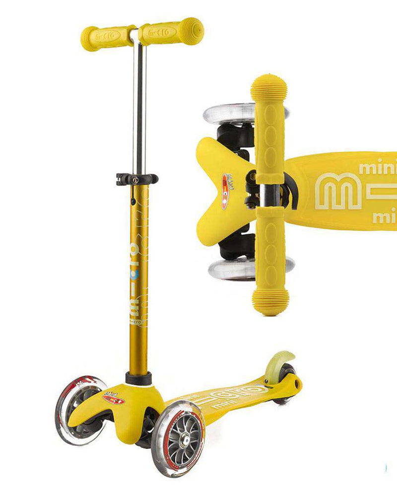 MICRO SCOOTERS Mini Micro Deluxe - Yellow