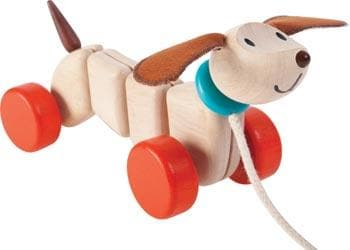 Plan Toys - Wooden Happy Puppy