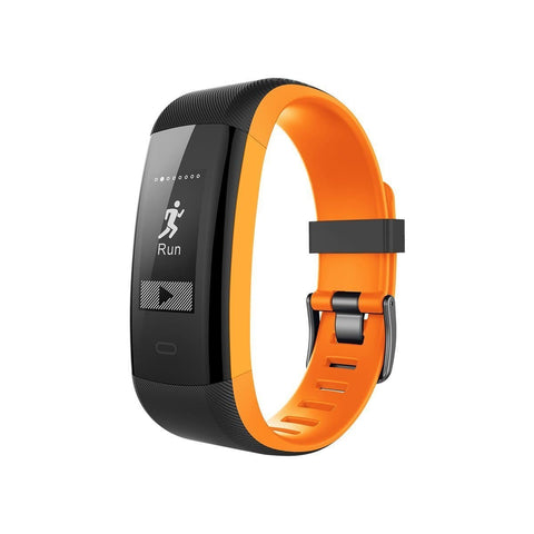 Smart Watch Sports Plus for Teens - Black/Orange