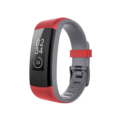 Sports Plus Smart watch for Teens - Red/Grey