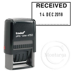 Dater 4750 RECEIVED Trodat Self Inking Stamp