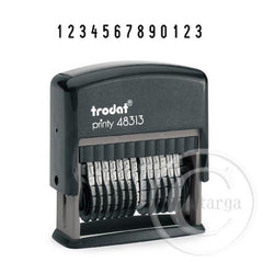 13 Bands 4mm High 48313 Trodat Self Inking Stamp